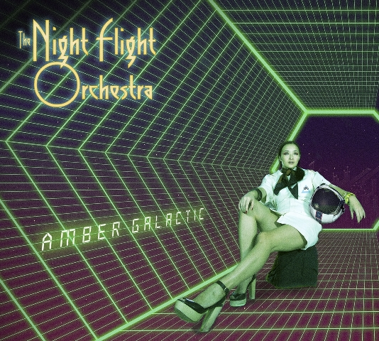 The Night Flight Orchestra - Amber Galactic album artwork, The Night Flight Orchestra - Amber Galactic album cover, The Night Flight Orchestra - Amber Galactic cover artwork, The Night Flight Orchestra - Amber Galactic cd cover