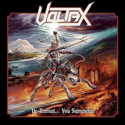 Voltax - No Retreat You Surrender album artwork, Voltax - No Retreat You Surrender album cover, Voltax - No Retreat You Surrender cover artwork, Voltax - No Retreat You Surrender cd cover