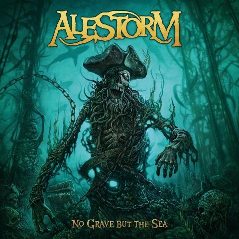 Alestorm - No Grave But The Sea album artwork, Alestorm - No Grave But The Sea album cover, Alestorm - No Grave But The Sea cover artwork, Alestorm - No Grave But The Sea cd cover