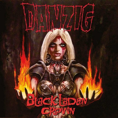 danzig - Black Laden Crown album artwork, danzig - Black Laden Crown album cover, danzig - Black Laden Crown cover artwork, danzig - Black Laden Crown cd cover
