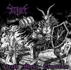 Satanize - Death Mass Execution album artwork, Satanize - Death Mass Execution album cover, Satanize - Death Mass Execution cover artwork, Satanize - Death Mass Execution cd cover