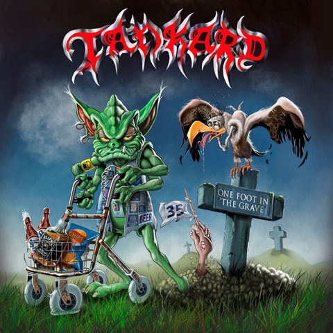Tankard - One Foot In The Grave album artwork, Tankard - One Foot In The Grave album cover, Tankard - One Foot In The Grave cover artwork, Tankard - One Foot In The Grave cd cover