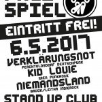 Verklärungsnot, Niemandsland, Kid Louie 06.05.2017 Stand Up Club, Fischamend