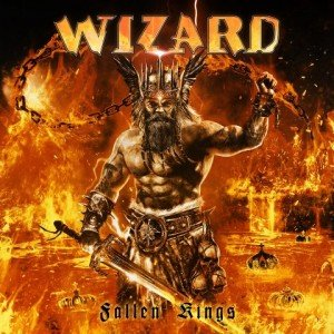 Wizard - Fallen Kings album artwork, Wizard - Fallen Kings album cover, Wizard - Fallen Kings cover artwork, Wizard - Fallen Kings cd cover