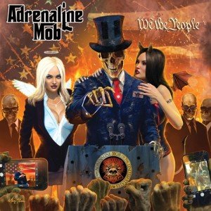 Adrenaline Mob - We The People album artwork, Adrenaline Mob - We The People album cover, Adrenaline Mob - We The People cover artwork, Adrenaline Mob - We The People cd cover