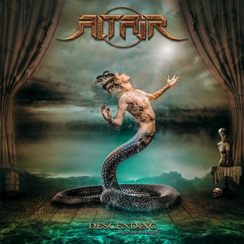 Altair - Descending: A Devilish Comedy album artwork, Altair - Descending: A Devilish Comedy album cover, Altair - Descending: A Devilish Comedy cover artwork, Altair - Descending: A Devilish Comedy cd cover