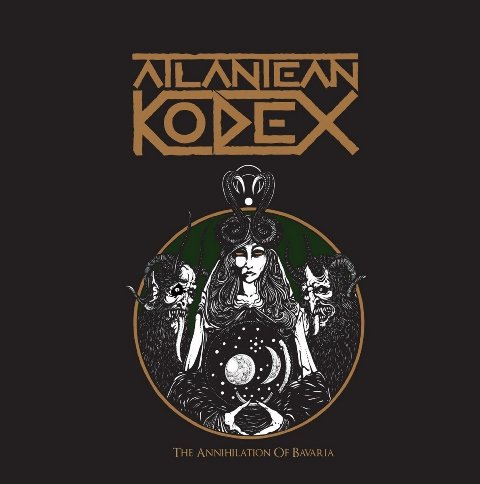Atlantean Kodex - The Annihilation Of Bavaria album artwork, Atlantean Kodex - The Annihilation Of Bavaria album cover, Atlantean Kodex - The Annihilation Of Bavaria cover artwork, Atlantean Kodex - The Annihilation Of Bavaria cd cover