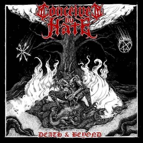 CONCEIVED BY HATE - Death and Beyond album artwork, CONCEIVED BY HATE - Death and Beyond album cover, CONCEIVED BY HATE - Death and Beyond cover artwork, CONCEIVED BY HATE - Death and Beyond cd cover