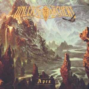 UNLEASH THE ARCHERS - apex album artwork, UNLEASH THE ARCHERS - apex album cover, UNLEASH THE ARCHERS - apex cover artwork, UNLEASH THE ARCHERS - apex cd cover