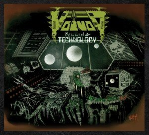 Voivod - Killing Technology album artwork, Voivod - Killing Technology album cover, Voivod - Killing Technology cover artwork, Voivod - Killing Technology cd cover
