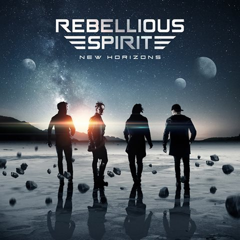 REBELLIOUS SPIRIT - New Horizons album artwork, REBELLIOUS SPIRIT - New Horizons album cover, REBELLIOUS SPIRIT - New Horizons cover artwork, REBELLIOUS SPIRIT - New Horizons cd cover