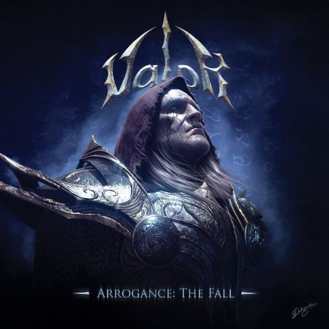 Valor - Arrogance: The Fall album artwork, Valor - Arrogance: The Fall album cover, Valor - Arrogance: The Fall cover artwork, Valor - Arrogance: The Fall cd cover