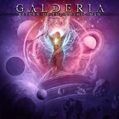 Galderia - Return Of The Cosmic men album artwork, Galderia - Return Of The Cosmic men album cover, Galderia - Return Of The Cosmic men cover artwork, Galderia - Return Of The Cosmic men cd cover