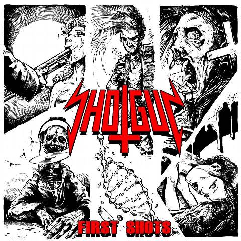 Shotgun - First Shots album artwork, Shotgun - First Shots album cover, Shotgun - First Shots cover artwork, Shotgun - First Shots cd cover