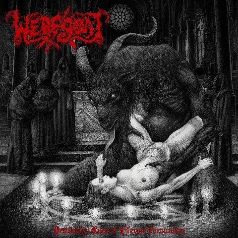 Weregoat - Pestilential Rites Of Infernal Invocation album artwork, Weregoat - Pestilential Rites Of Infernal Invocation album cover, Weregoat - Pestilential Rites Of Infernal Invocation cover artwork, Weregoat - Pestilential Rites Of Infernal Invocation cd cover