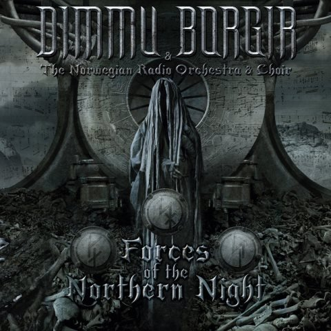 dimmu borgir - Forces Of The Northern Night dvd artwork, dimmu borgir - Forces Of The Northern Night dvd cover