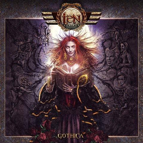 TEN - Gothica album artwork, TEN - Gothica album cover, TEN - Gothica cover artwork, TEN - Gothica cd cover