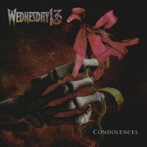 wednesday 13 - condolences album artwork, wednesday 13 - condolences album cover, wednesday 13 - condolences cover artwork, wednesday 13 - condolences cd cover