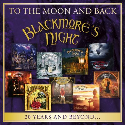 BLACKMORE'S NIGHT - To The Moon And Back - 20 Years And Beyond album artwork, BLACKMORE'S NIGHT - To The Moon And Back - 20 Years And Beyond album cover, BLACKMORE'S NIGHT - To The Moon And Back - 20 Years And Beyond cover artwork, BLACKMORE'S NIGHT - To The Moon And Back - 20 Years And Beyond cd cover