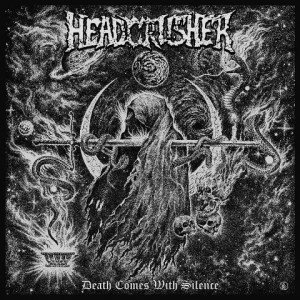 Headcrusher - Death Comes With Silence album artwork, Headcrusher - Death Comes With Silence album cover, Headcrusher - Death Comes With Silence cover artwork, Headcrusher - Death Comes With Silence cd cover