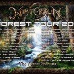 Wintersun Forest Tour 2017 feat Wintersun, Whispered 21.09.17 PPC, Graz