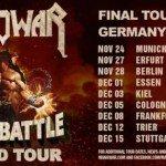 The Final Battle Tour– Manowar  24.11.2017 Zenith, München