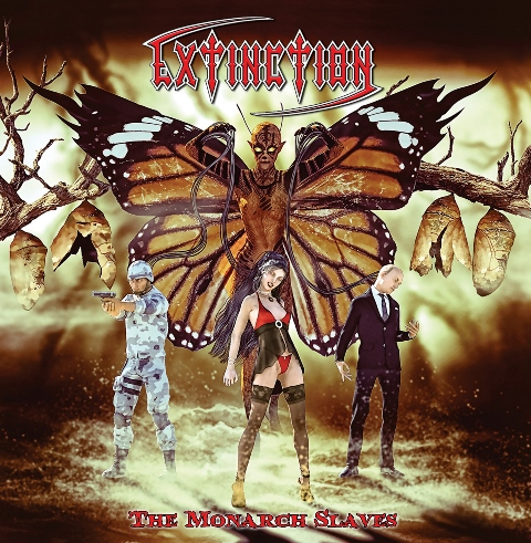 Extinction-The-monarch-Slaves-album-artwork