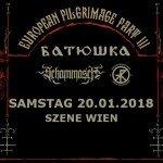 BATUSHKA, SCHAMMASCH, TREPANERINGSRITUALEN 20.01.18 ((szene)), Wien