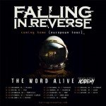 FALLING IN REVERSE, Dead Girls Academy, The Word Alive 30.01.18 Technikum, München