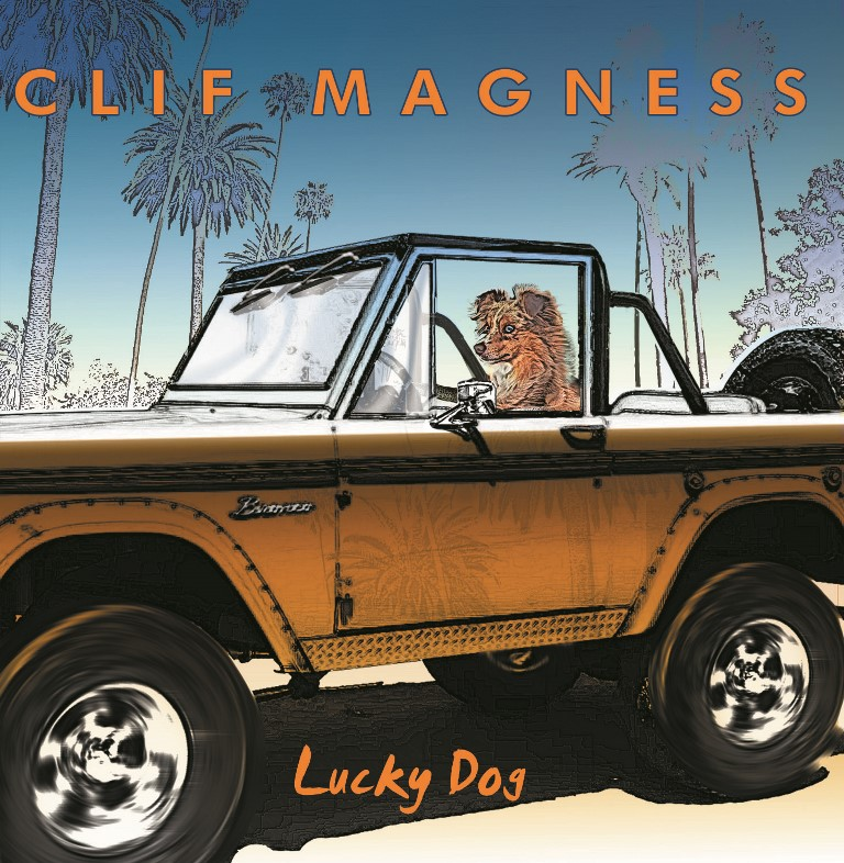 CLIF-MAGNESS-Lucky-Dog-album-cover