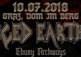 Iced Earth, Ebony Archways, Apis 10.07.18 Dom im Berg, Graz