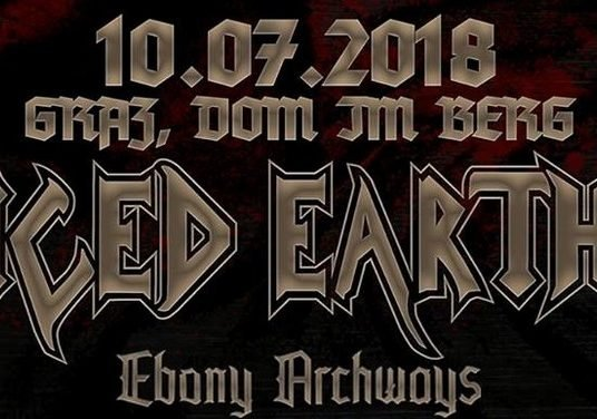 ICED EARTH, EBONY ARCHWAYS, APIS, 10.07.18 Dom im Berg, Graz