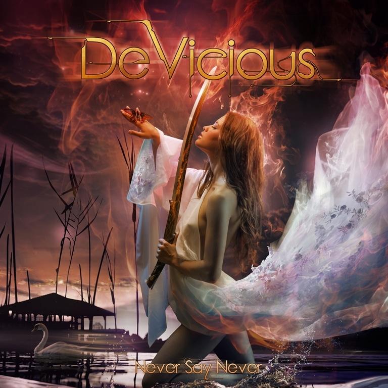 DeVicious-never-say-never-album-cover