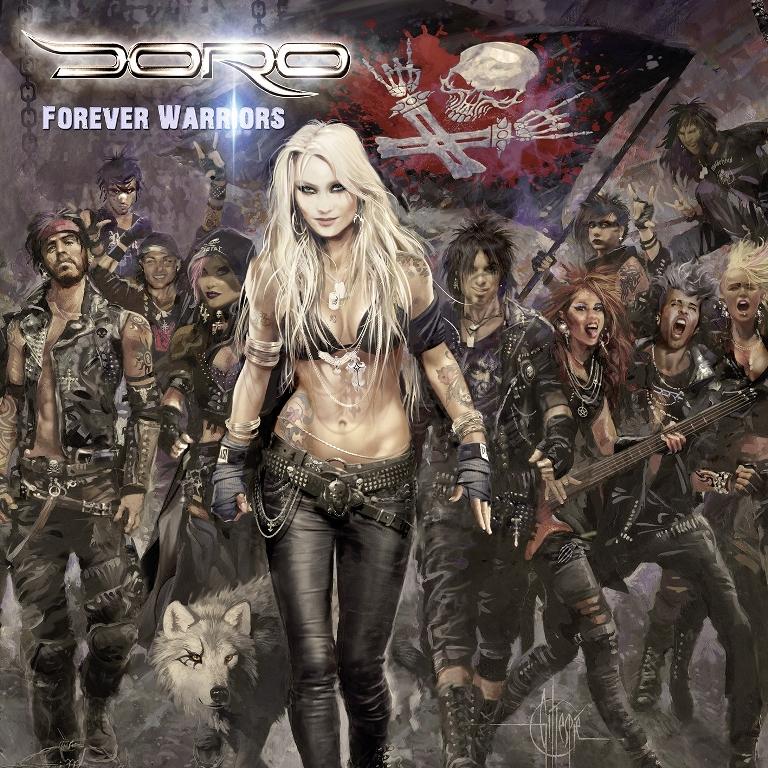 Doro-Forever-Warriors-album-cover