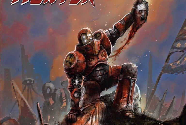 Iron-Hunter-Mankind-Resistance-album-cover