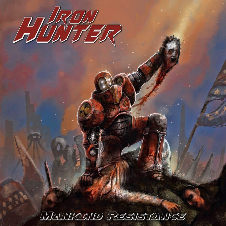 Iron-Hunter-Mankind-Resistance-album-cover