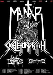 MANTAR + SKELETONWITCH + EVIL INVADERS + DEATHRITE 27.11.18 Arena-Wien @ Arena-Wien