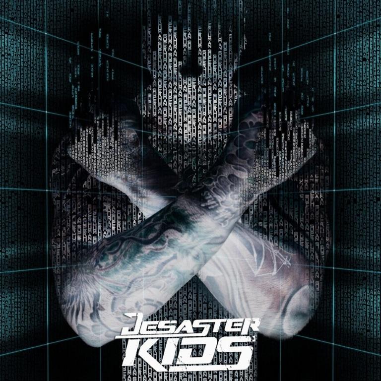 DESASTERKIDS-Superhuman-album-cover