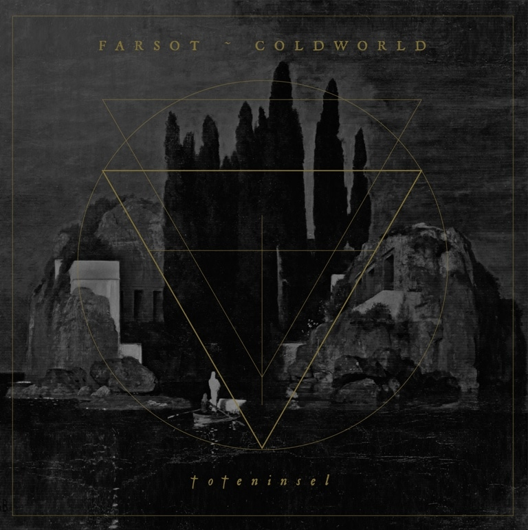 farsot-coldworld-toteninsel-split-album-cover