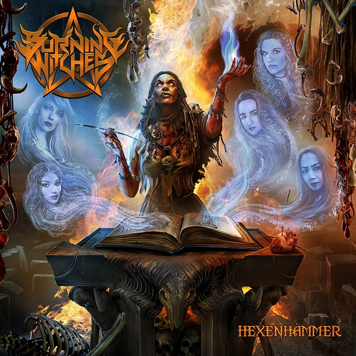 Burning-Witches-HEXENHAMMER-album-cover