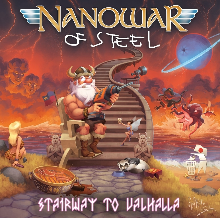 Nanowar-Of-Steel-Stairway-To-Valhalla-album-cover