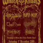 Winter Rituals 2018 – Asmodeus, Thirdmoon, Revel In Flesh, Svartidaudi, Aura Noir 01.12.18 Explosiv, Graz