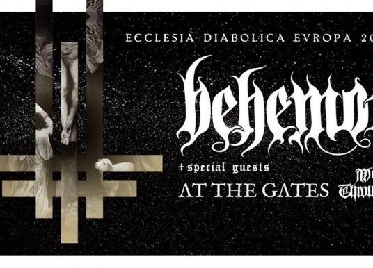 BEHEMOTH, AT THE GATES, WOLVES IN THE THRONE ROOM, 13.01.19, Arena, Wien