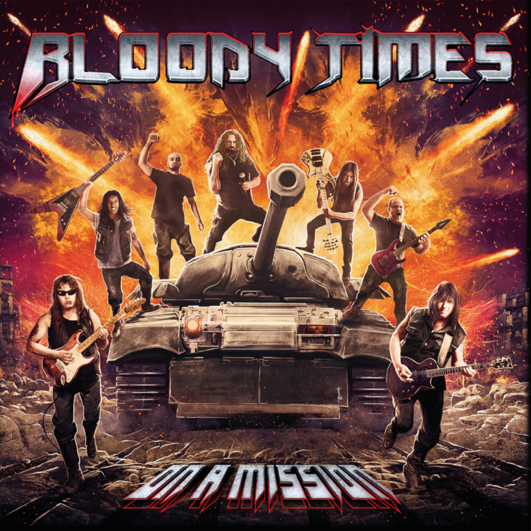 Bloody-Times-On-A-Mission-album-cover