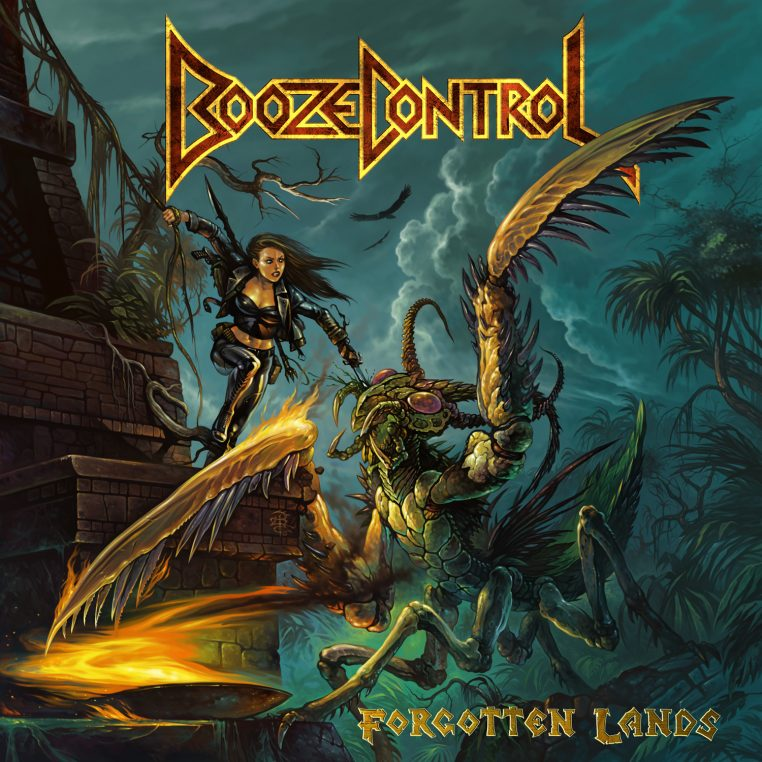 Booze-Control-Forgotten-Lands-album-cover