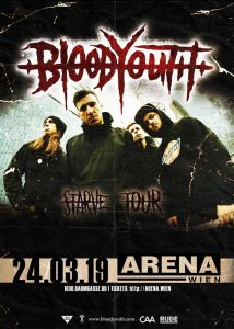 Blood Youth am 24.03.19, 20:00 Uhr in WIEN @ Arena Wien
