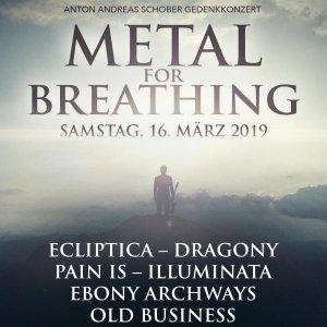 Metal for Breathing am 16.03.19, 18:30 Uhr in WIEN @ Szene Wien