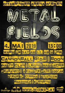 METAL FIELDS, am 03.-04.05.2019 in Wiesen @ Wiesen