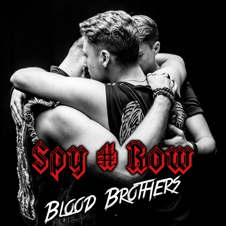 Spy-Row-Blood-Brothers-album-cover