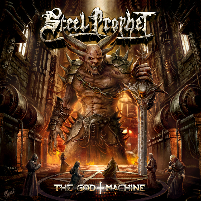 Steel Prophet - The God Machine album cover